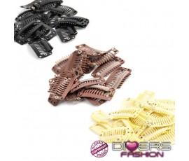 clips peinetas acero y silicona