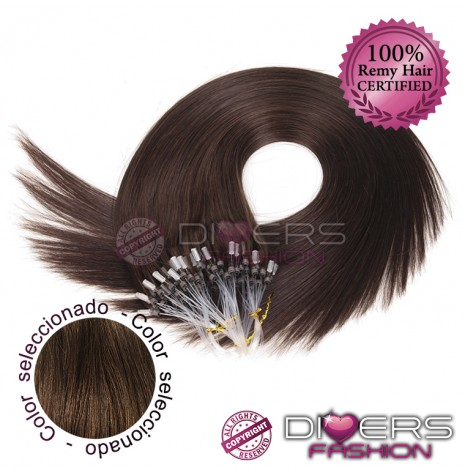 Extensiones anillas Easy / Micro LOOP - GRAPA Pelo Liso