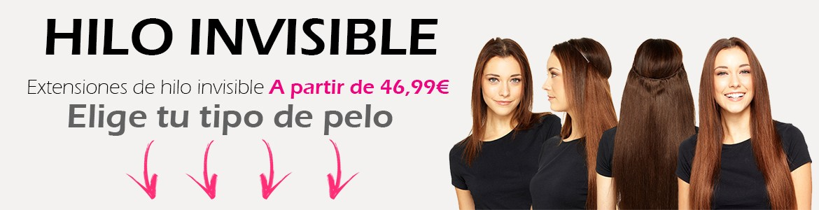 Extensiones Hilo Invisible