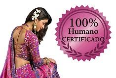 100% humano certificado