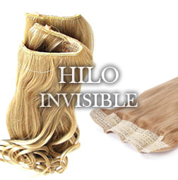 Extensiones de pelo Hilo invisible