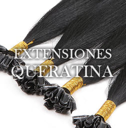 Extensiones de pelo queratina