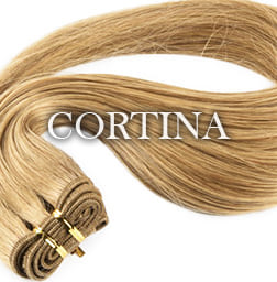 Extensiones de pelo Cortina / Tejido